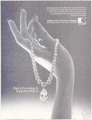 Chubb Insurance Jewelry