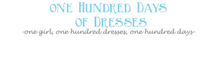 100 Days of Dresses