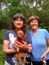Dr. Bonnie McCormick holds Trixie
