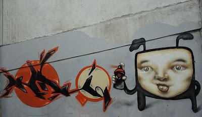 graffiti characters,graffiti face