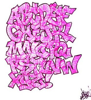 graffiti alphabet letter pink,graffiti alphabet pink,graffiti alphabet
