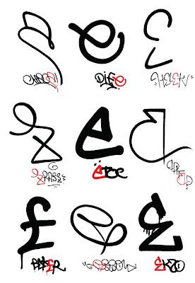 Graffiti taxonomy,graffiti letter,letter e