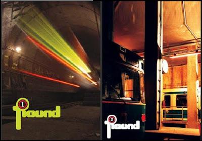 Round magazine graffiti