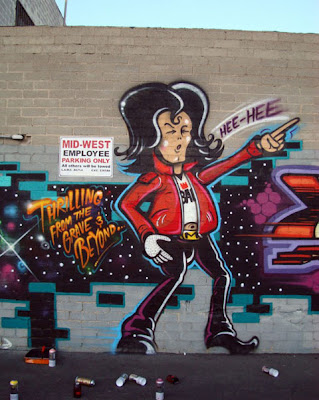 graffiti tribute to Michael jackson