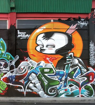 3D graffiti in your garage image
