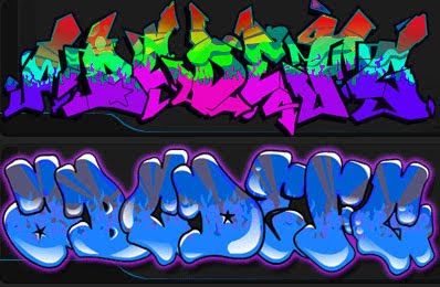 Graffiti Fonts Alphabet
