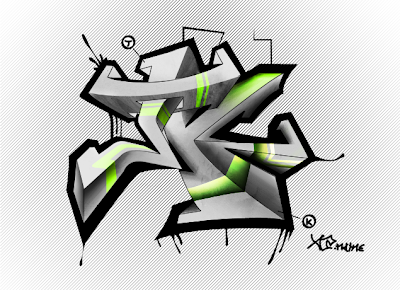 graffiti name3d