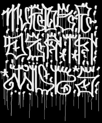 Graffiti fonts pictures