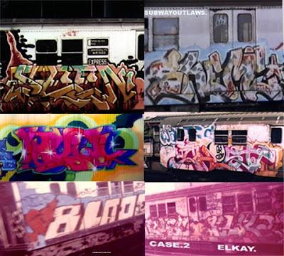 subway graffiti