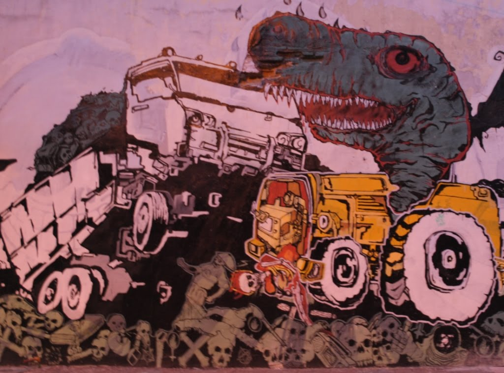Graffiti art: Graffiti monsters >> street graffiti monsters and truck