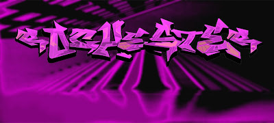 purple graffiti color, alphabet graffiti