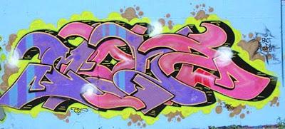 graffiti mural, graffiti 3d