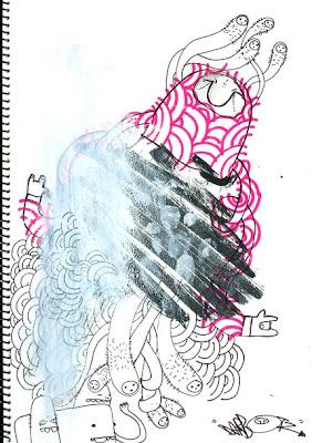 graffiti sketches, darbotz