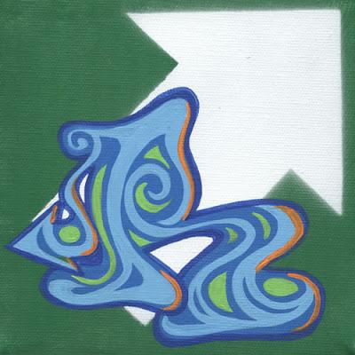 R, graffiti letter R, alphabet R, letter R