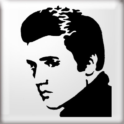 graffiti stencil, elvis graffiti