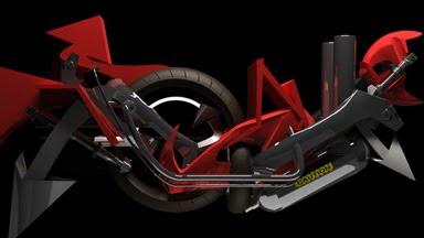 graffiti 3d, digital graffiti, motorcycle graffiti