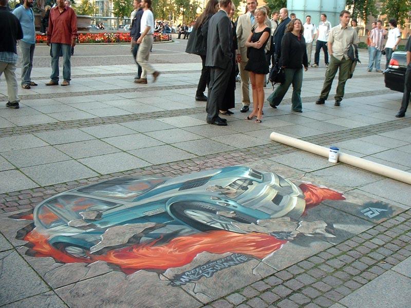 Street Painting >> Graffiti 3d