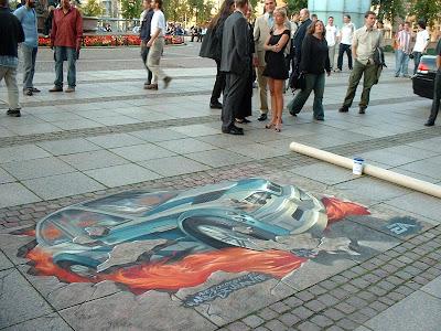 europe graffiti, street painting, graffiti 3d
