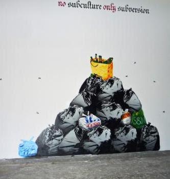 graffiti wall, graffiti stencil