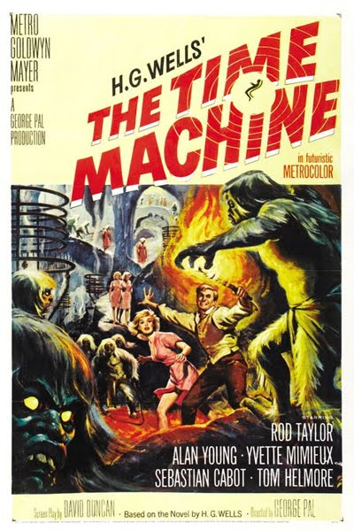 the time machine by h. g. wells. The Time Machine pulls you