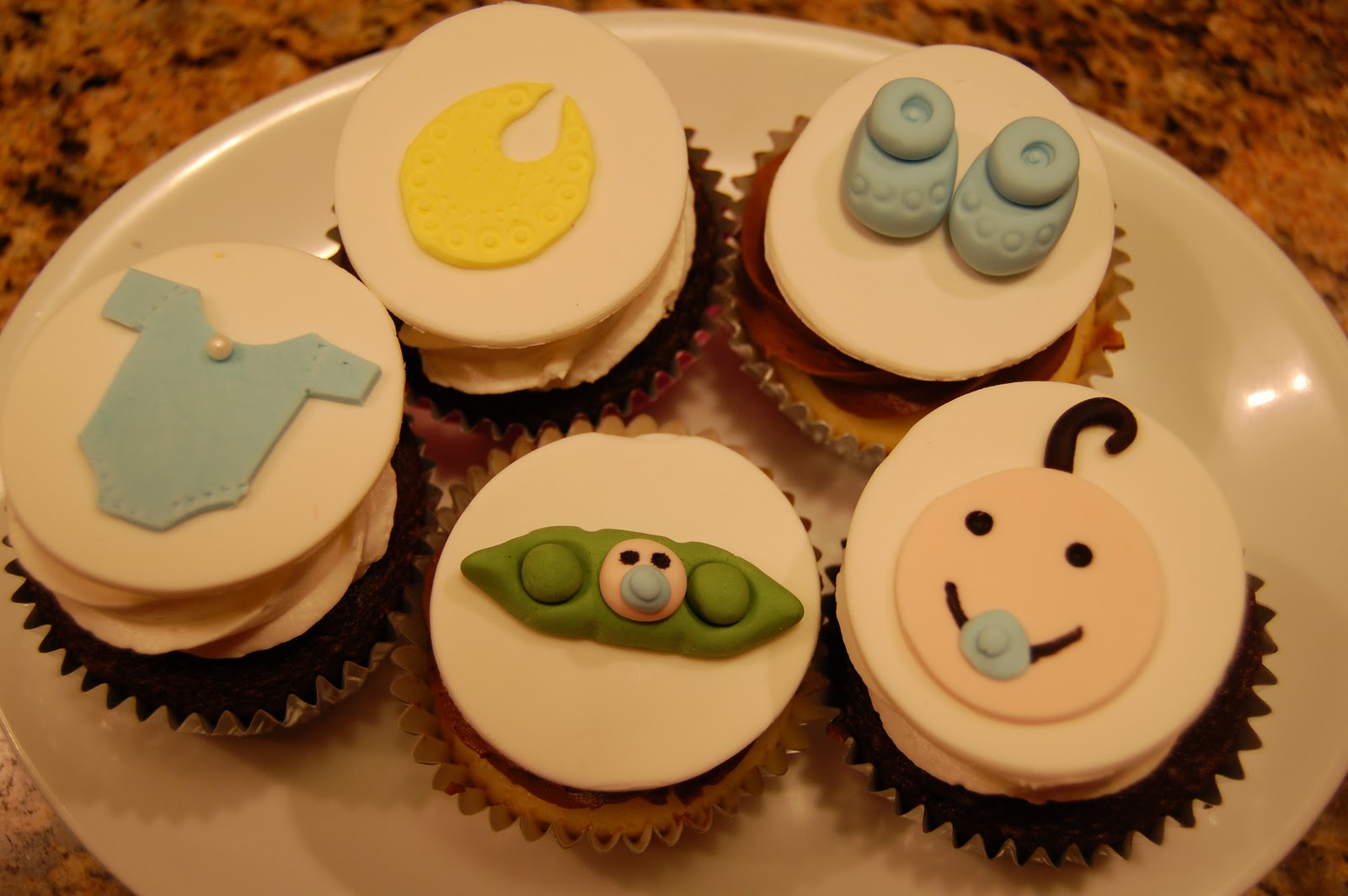 baby shower cupcakes baby boy collection jpg