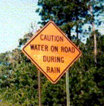 funny road signs