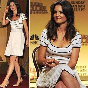 Katie Holmes  on Cab  Especial Cab  Indicados Ao Globo De Ouro 2011