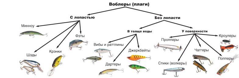 виды рыболовных снастей с фото