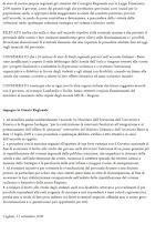 Mozione del PD respinta dal Consiglio Regionale il 22/09/'09