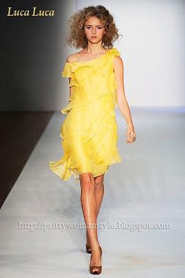 жълта вечерна рокля