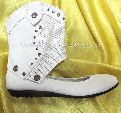 обувки с откачаща се горна част