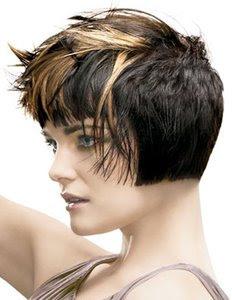 къса коса прически на кичури