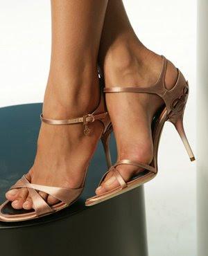 бронзови сандали на Armani