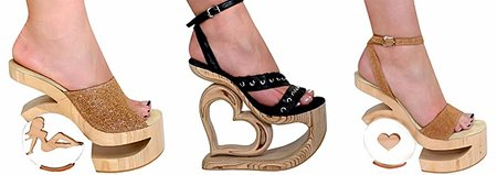 Екстравагантни дамски сандали