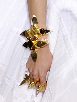 Givenchy gold ring