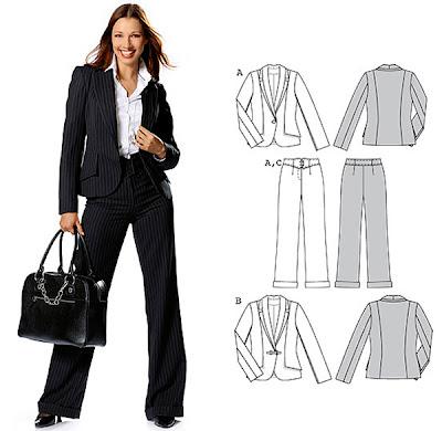 костюм сако и панталон