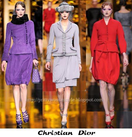 Мода за офиса - нетрадиционен костюм за работа Dior