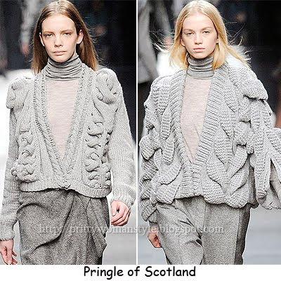 сив пуловер