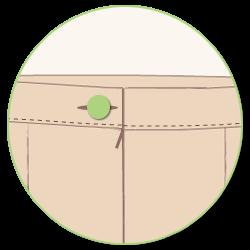 прав колан на пола