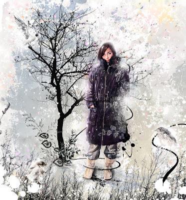 зимен колаж