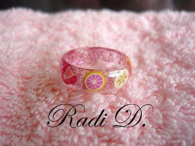 пръстен от UV гел