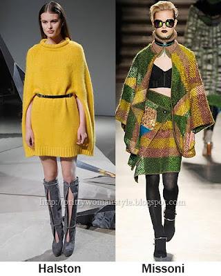 сиво - Облекло, мода, елегантност - Page 2 Fall-winter-2010-2011-Poncho-02