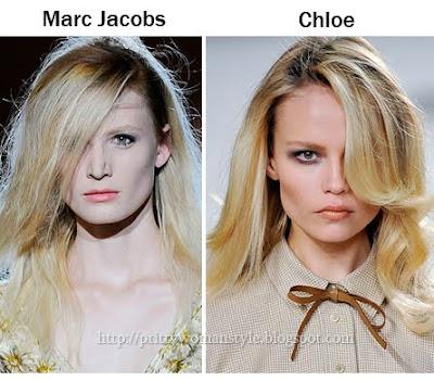 Асиметрични Прически с Дълъг бретон