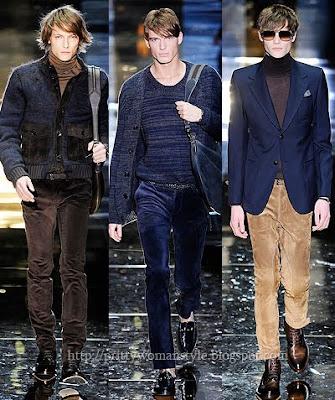 мъжки панталони от кадифе