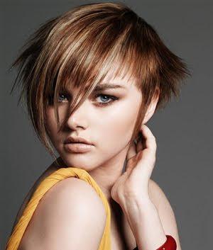 къса стърчаща коса
