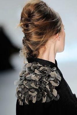ретро сплетена коса