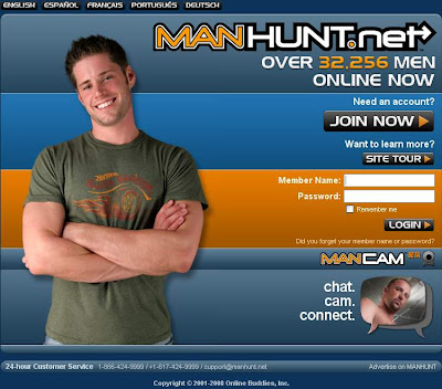 Jonathan Crutchley, co- founder of the popular gay hook up site MANHUNT.