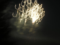 white fireworks