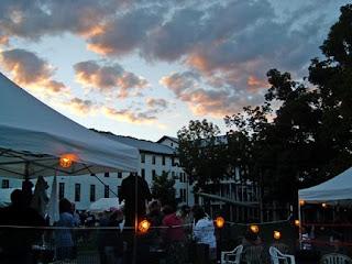 festival dusk