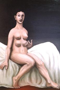 A woman with four breasts, Kazuya Akimoto